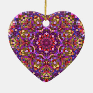 Mosaic Pattern Vintage  Ornaments