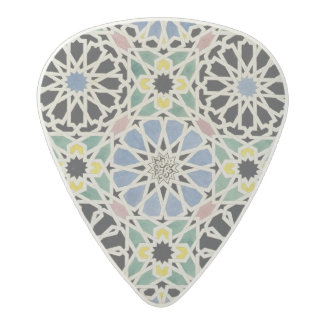 Mosaic Pavement in the Alhambra, from 'The Arabian Acetal Guitar Pick