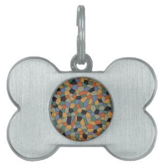 Mosaic Pet ID Tag
