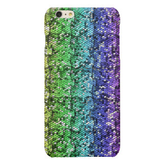 Mosaic Puzzle in gradient colors - customisable. iPhone 6 Plus Case