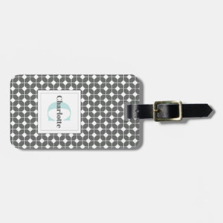 Mosaic Quilt Pattern Luggage Tag