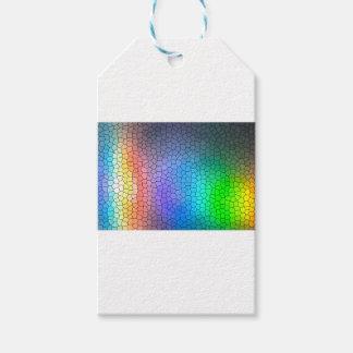 Mosaic Rainbow Gift Tags
