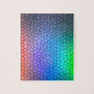 Mosaic Rainbow Jigsaw Puzzle