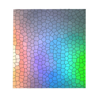 Mosaic Rainbow Notepad