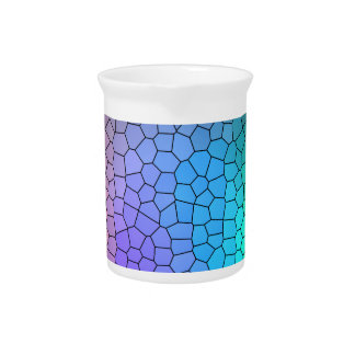 Mosaic Rainbow Pitcher
