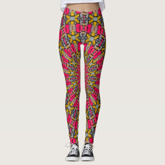 Mosaic Rave Love Leggings