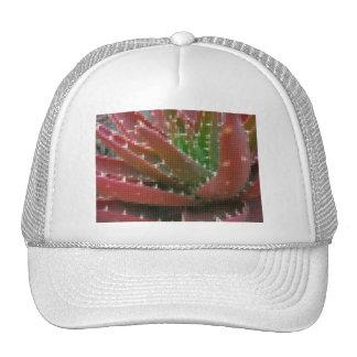 Mosaic Red-Green Aloe 2 Trucker Hat