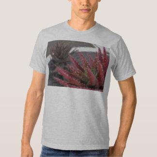 Mosaic Red-Green Aloe 3 T-shirts