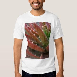 Mosaic Red-Green Aloe 4 T-shirts