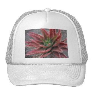 Mosaic Red-Green Aloe 5 Trucker Hats
