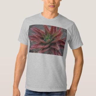 Mosaic Red-Green Aloe 5 T-shirt