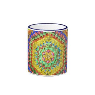 Mosaic Ringer Mug