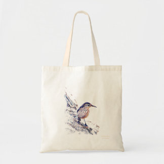 Mosaic Rock Wren Budget Tote Bag