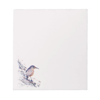 Mosaic Rock Wren Notepad
