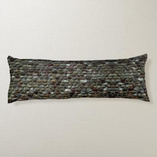Mosaic Rocks Pattern Body Cushion