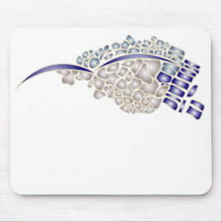 Mosaic Seagull Mouse Pads