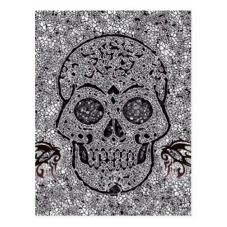 Mosaic Skull Postcards