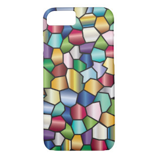 Mosaic Stain Glass Design iPhone 7 Case