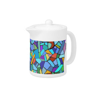 Mosaic Stained Glass Design