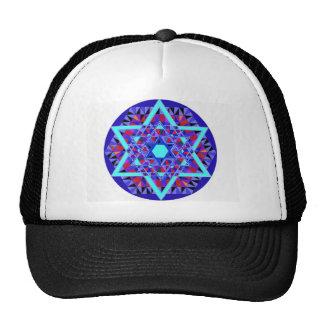 Mosaic Star of David. Cap