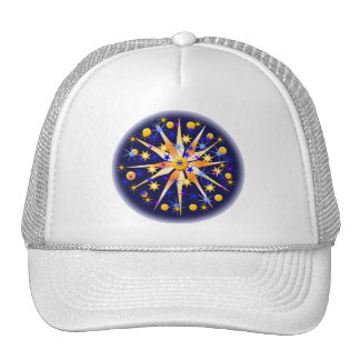 Mosaic Starburst Hat