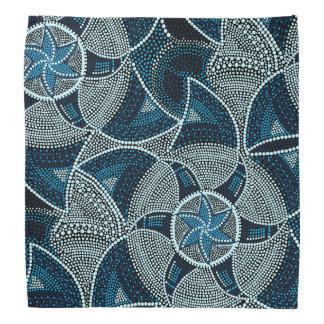 Mosaic sun bandana