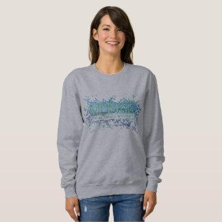 Mosaic sweatshirt (women's style)
