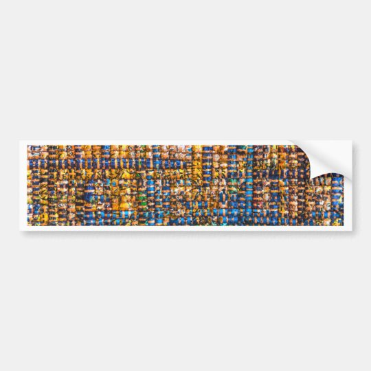 Mosaic Tapestry Bumper Sticker
