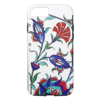 Mosaic Tile Flower - Turkish iPhone 7 Case