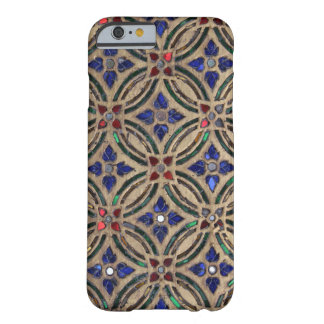 Mosaic tile pattern stone glass Moroccan photo Barely There iPhone 6 Case