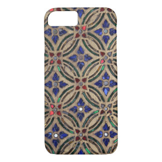 Mosaic tile pattern stone glass Moroccan photo iPhone 7 Case