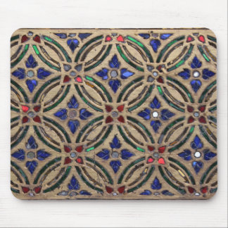 Mosaic tile pattern stone glass Moroccan photo Mouse Mat