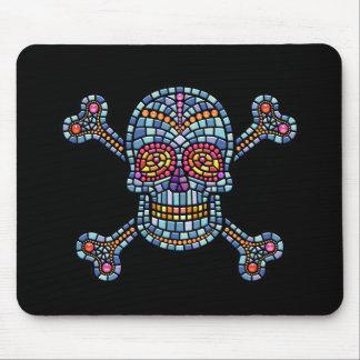 Mosaic Tile Pirate Mouse Mat