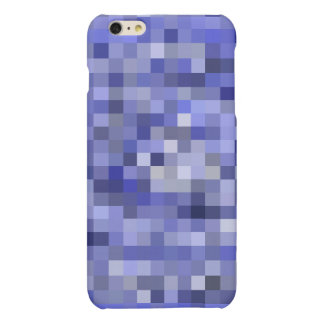 Mosaic Tiles Blurry Blue – Shades of Blue iPhone 6 Plus Case