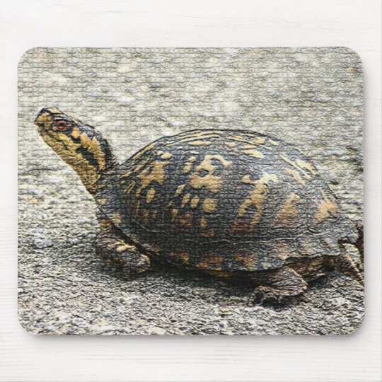 Mosaic Turtle Mouse Pad