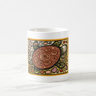 Mosaic Turtle Mugs