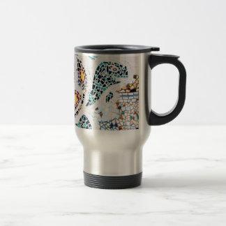 Mosaic Turtle Travel Mug