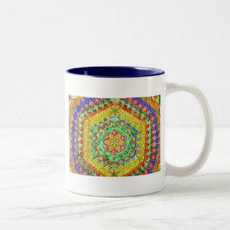 Mosaic Two-Tone Mug