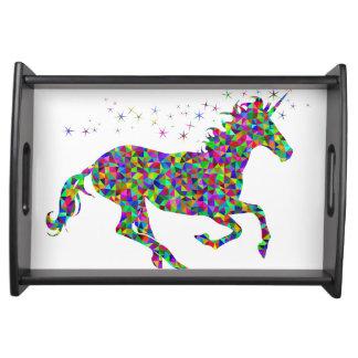 Mosaic Unicorn Serving Tray