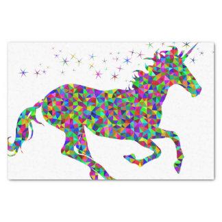 Mosaic Unicorn Tissue Paper