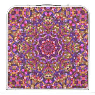"Mosaic Vintage Kaleidoscope   48""    Pong Table"