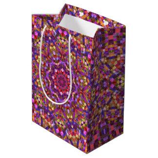 Mosaic   Vintage Kaleidoscope Medium Gift Bag