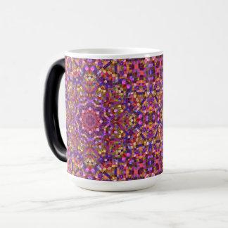 Mosaic Vintage Kaleidoscope  Morphing Mug