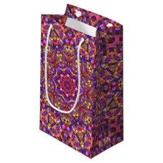 Mosaic Vintage Kaleidoscope  Small Gift Bag