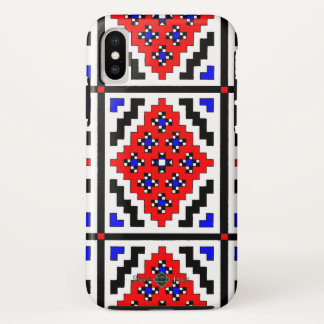 Mosaic Wallpaper ( Small ) iPhone X Case
