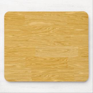mosaic wood mouse mat