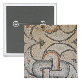 Mosaics of Meydankapi, circa 4th century A.D. Pinback Buttons