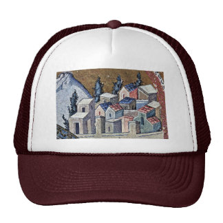 Mosaics Of The Church Kahri-Djami Scene In Istanbu Trucker Hat