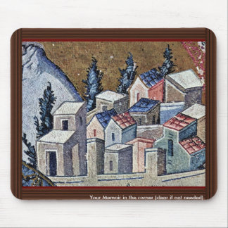 Mosaics Of The Church Kahri-Djami Scene In Istanbu Mouse Pad