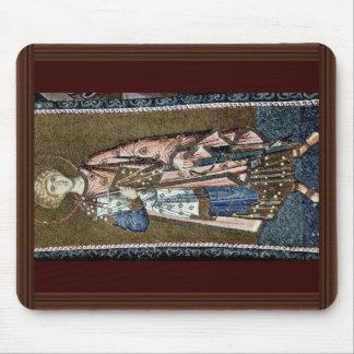 Mosaics Of The Church Kahri-Djami Scene In Istanbu Mouse Pads